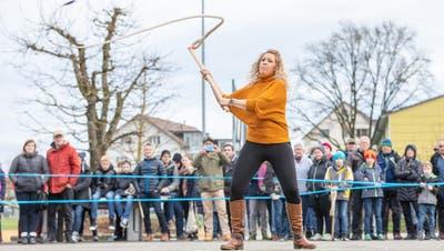 Der Joggeliumzug ist der Abschluss des Schützenjahres in Lenzburg. (Madeleine Baumann)