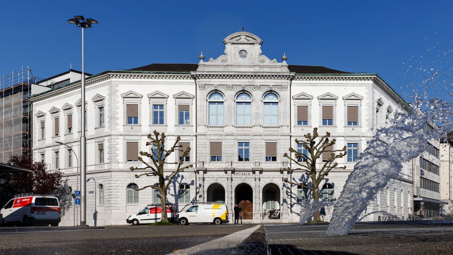 Obergericht Amthaus 1 Solothurn. (Hanspeter Bärtschi)