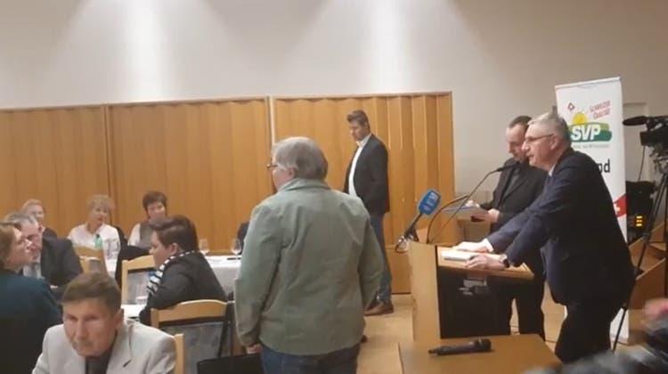 Überraschung am Parteitag: SVP Aargau fasst Ja-Parole zum Covid-Gesetz