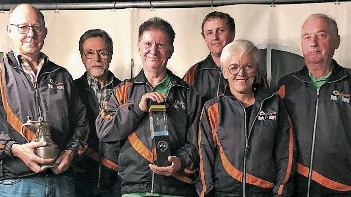 Schützenverein Hub-Hard feiert Saisonabschluss: Willi Kobler zum dritten Mal in Folge Jahressieger