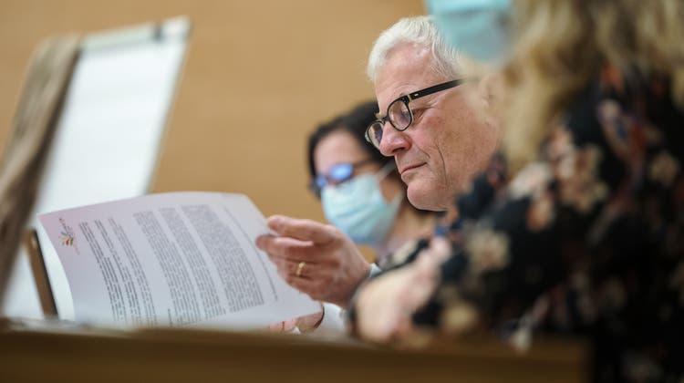 Die letzte Gemeinderatssitzung von Kurt Fluri. (Hanspeter Bärtschi)