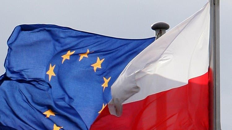 Auf Kriegsfuss: Polen und die EU-Richter in Luxemburg. (Keystone)