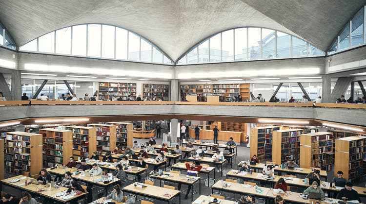 Die Universitätsbibliothek der Uni Basel. (Roland Schmid)