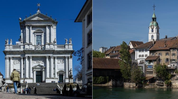 Solothurn geniesst den Ruf als schönste Barockstadt der Schweiz. (Hanspeter Bärtschi)
