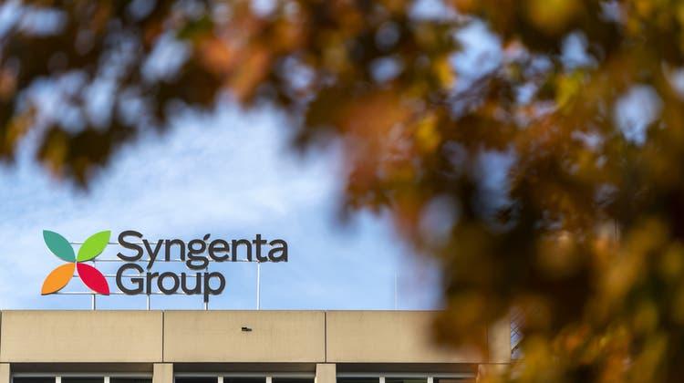 Der Agrochemiekonzern Syngenta legt weiter zu. (Keystone)