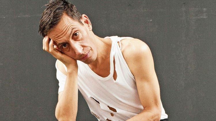 «Danse Macabre» ist seine aktuelle Produktion. Martin Zimmermann, Artist, Bühnenbildner, Regisseur und seine bessere Hälfte. (Bild: Augustin Rebetez)