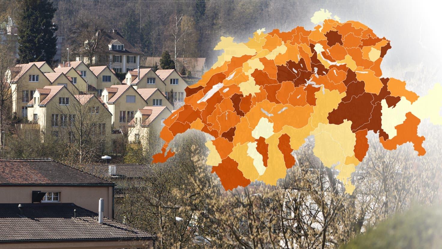 Einfamilienhäuser: In der Pandemie erstrahlt der Traum von ihnen besonders hell. (Getty)