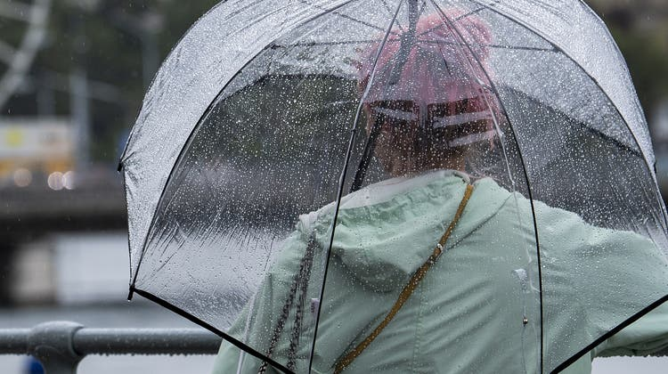 Vor allem südlich der Alpen ist mit intensiven Niederschlägen zu rechnen. (Symbolbild) (Keystone)