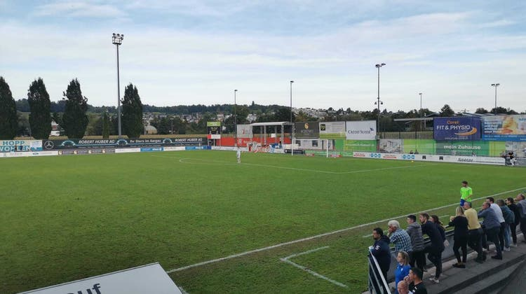 Der FC  Wohlen spielte im Stadion Niedermatten gegen den FC Solothurn und verlor mit 1:0. (Larissa Gassmann)