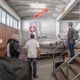 Um die 10'500 Objekte werden im Aussenlager in Rain aufbewahrt. (Bild: Pius Amrein (Rain, 3. Oktober 2021))