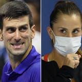 Novak Djokovic steht der Impfung kritisch gegenüber. (Frank Franklin Ii / AP)