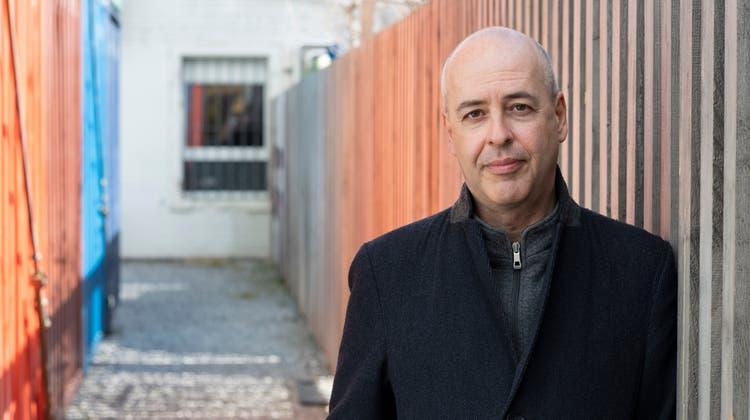 Autor Peter Zimmermann (49). (Ayse Yavas (Zürich, März 2021))