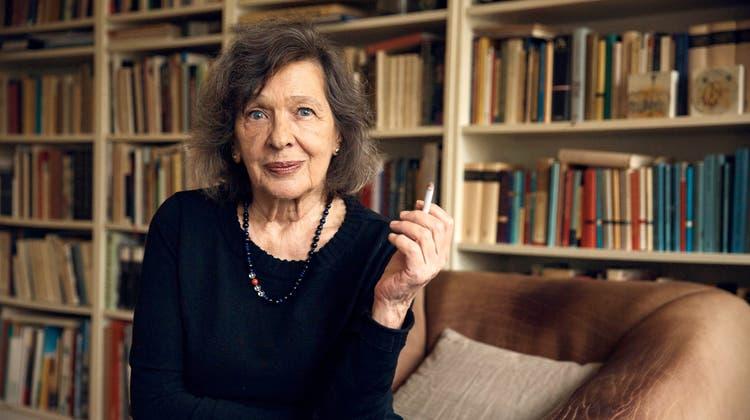 Zsuzsanna Gahse liebt die deutsche Sprache: «Sie ist wunderbar.» (Maurice Hass / Bak / Schweizer Literaturpreise)