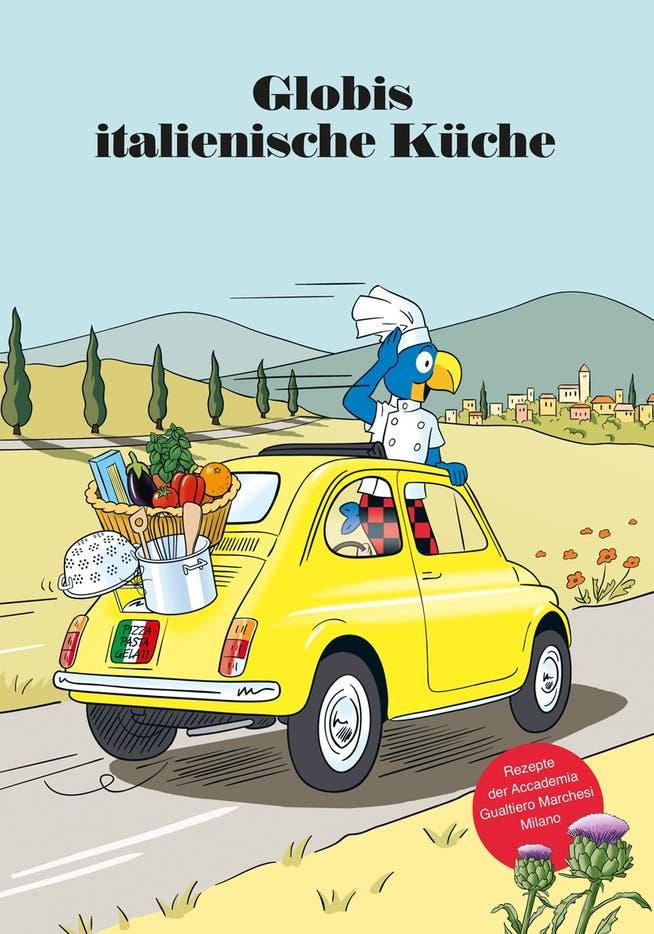 Nel suo nuovo libro Globe apprende la cultura alimentare italiana.