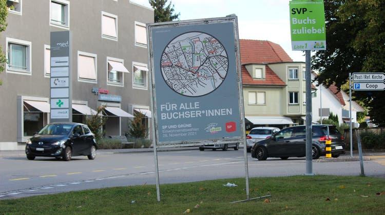 Für alle? In Buchs dürfen nur gut 50 Prozent der Einwohnerinnen und Einwohner im November den Einwohnerrat wählen. (Nadja Rohner / Aargauer Zeitung)