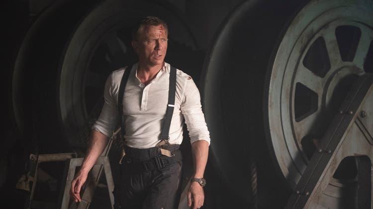 Sorgt für ein volles Haus in «Fricks Monti»: Daniel Craig als James Bond in «Keine Zeit zu sterben». (zvg)