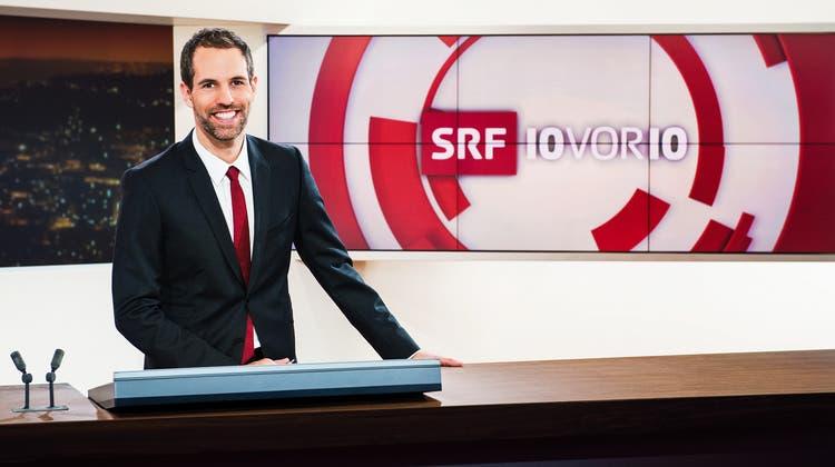 Ein Beitrag der SRF-Sendung «10vor10» musste kurz nach Ausstrahlung wieder aus der Online-Mediathek gelöscht werden – aus rechtlichen Gründen. (Symbolbild: Moderator Arthur Honegger) (Bild:  Oscar Alessio/Media Relations SRF)