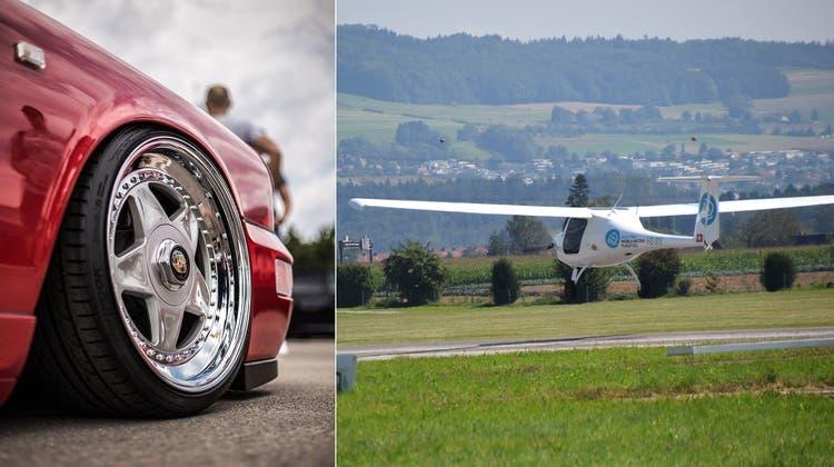 Autoposer auf der Flugpiste – dies befürchtet der Aero-Club. Bisher sind die Fahrzeuge aber nicht auf's Gelände gekommen. (Toni Widmer / Shutterstock)
