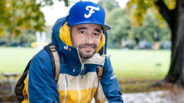Stefan Koller verbringt seine Zeit nun öfters auf der Parkbank im Schützenmattpark. (Kenneth Nars)