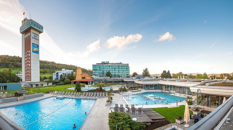 Das Thermalbad in Bad Zurzach ist die zurzeit grösste Freilufttherme der Schweiz. (zvg)