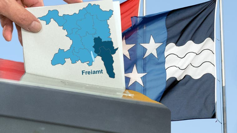 Die AZ zeigt, welche Freiämterinnen und Freiämter beim zweiten Wahlgangfür die freien Gemeinderatssitze kandidieren. (Fotomontage AZ)