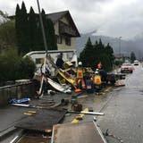 Der Sachschaden dürfte sich laut Polizei auf mehrere zehntausend Franken belaufen. (Bild: Kapo Uri/PD)
