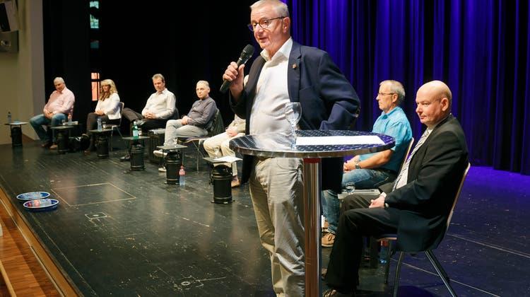 Wer wird Nachfolger von Martin Heiz? (links) (Andre Albrecht)