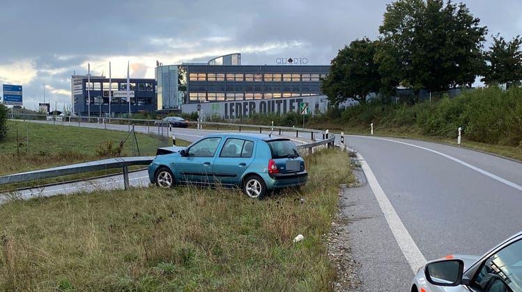 Das Fahrzeug kam im Bereich der Ausfahrt Solothurn Ost zum Stillstand. (Kantonspolizei Solothurn)