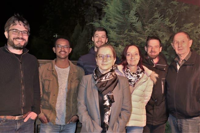 Der neue Vorstand der Hinterthurgauer SP mit: Michel Ketterle (Co-Präsident), Samuel Bedassa Alemu, Dominik Knobel, Sandrine Nicolic-Fuss, Brigitte Gallucci-Widmer, Serge Müller (Co-Präsident) und Fredi Kuhn.