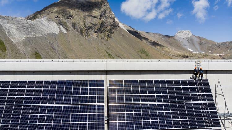 Die Anlage solljährlich 3,3 Gigawattstunden Strom produzieren. (Archivbild) (Keystone)