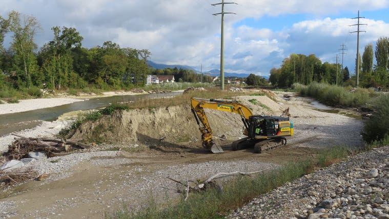 Nachbesserungen nach Hochwasser: Die Emme entwickelt sich dynamisch - wie das gewünscht wurde