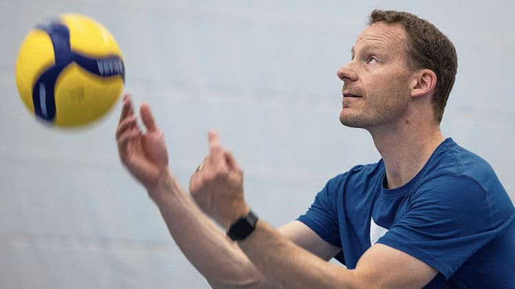 «Papier ist auswechselbar»: Der neue Trainer von Volley Luzern blickt optimistisch in die neue Saison