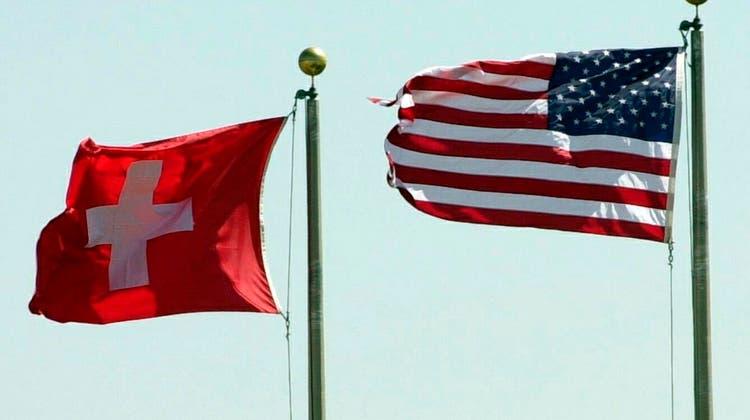 Konkurrenten im so genannten Offshore-Banking: Die Schweiz und die USA. (Keystone)
