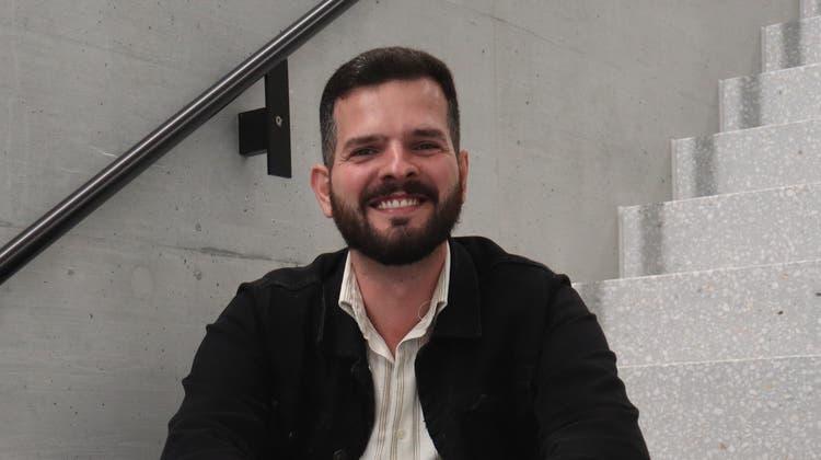 Will unter dem Künstlernamen MVJganz auf die Musik setzen: der 31-jährige Jeton Ramiqi. (Larissa Gassmann)