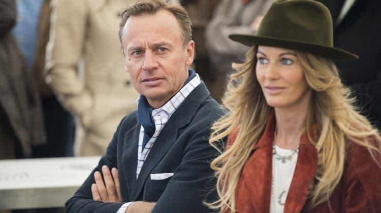 Ernesto und Kirsty Bertarelli haben sich getrennt. (Keystone)