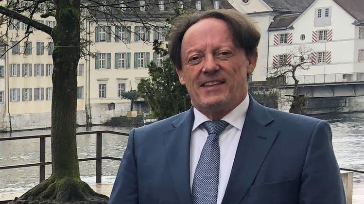 Pensionskassenchef Reto Bachmann kann noch nicht in Pension gehen, es wurde bis jetzt niemand für die Nachfolge gefunden. (Urs Moser)