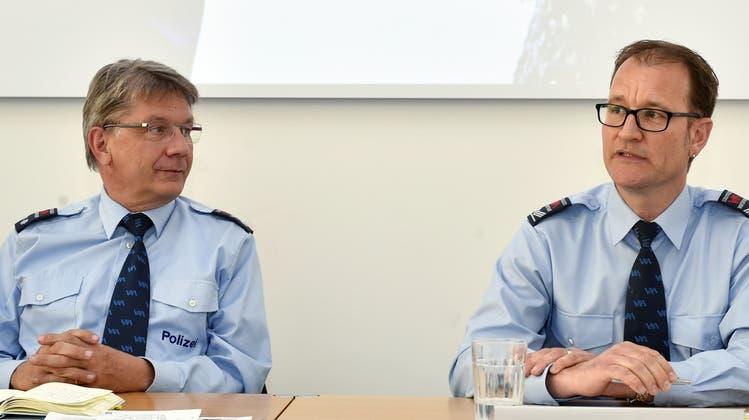 Fritz Lehmann (links) tritt im Mai 2022 von seinem Post ab. (Archivbild) (Keystone)