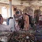 Anschlag auf Moschee in Afghanistan: Mindestens 43 Tote und über 140 Verletzte
