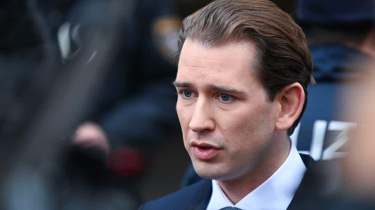 Gegen den österreichischen Kanzler wurden schwerwiegende Vorwürfe laut. (Thomas Kronsteiner / Getty Images Europe)