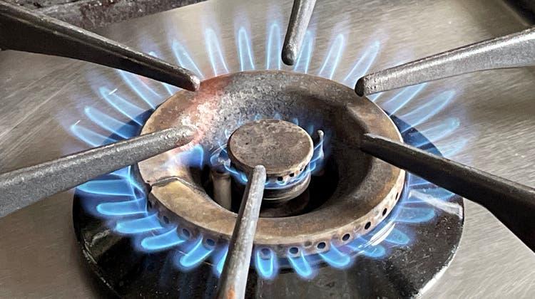 Kochen mit Gas wird schon am Montag teurer. (Oliver Menge)