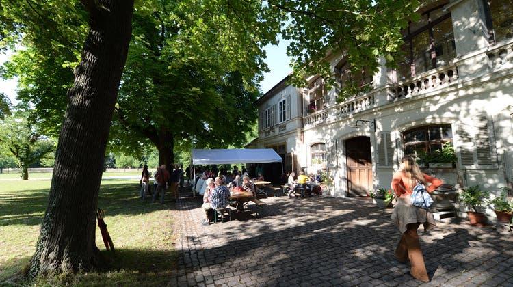 Der Kanton Basel-Stadt sucht Betreiber für ein neues Parkcafé. (Juri Junkov(02.07.2014))