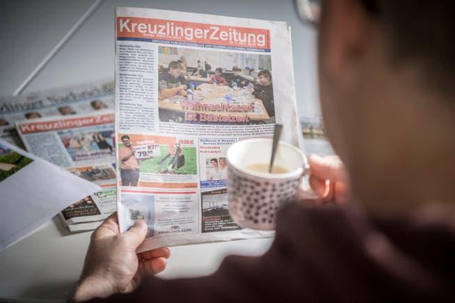 Die Kreuzlinger Zeitung existiert seit 20 Jahren. Ende Jahr ist aber Schluss.
