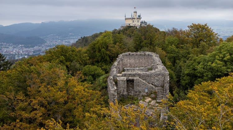 Das Freilichttheater wäre auf der Ruine Wartburg (vorne) und dem Sälischlössli aufgeführt worden. (Patrick Lüthy)