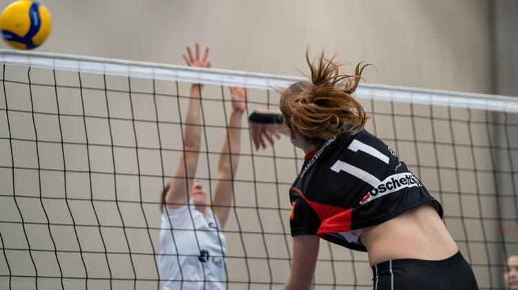 Der NNV BTV Aarau Volleyball auch in veränderter Aufstellung siegreich