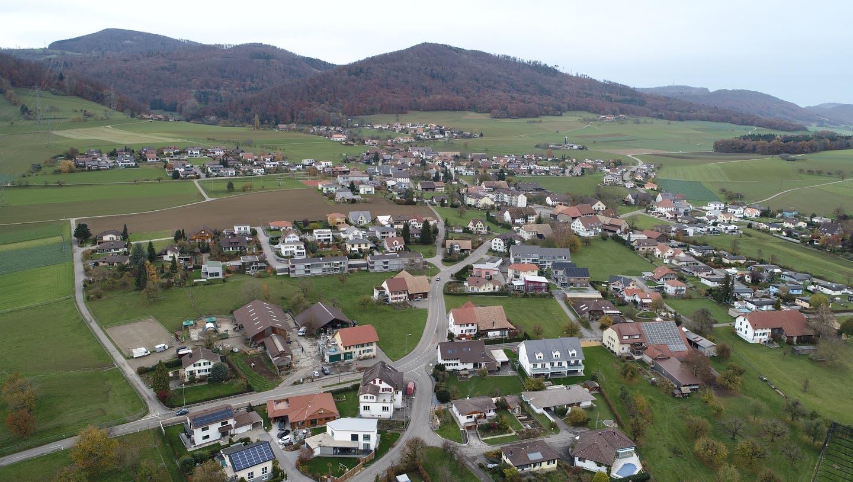 Stüsslingens Ortsplanungsrevision verzögert sich: Wegen abgesagten Veranstaltungen im letzten Jahr aufgrund der Coronakrise. (Bruno Kissling, November 2019)