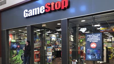 Gamestop ist eine Firma, die mit gebrauchten Videogames vorwiegend in Filialen in den USA handelt. (Tannen Maury / EPA)