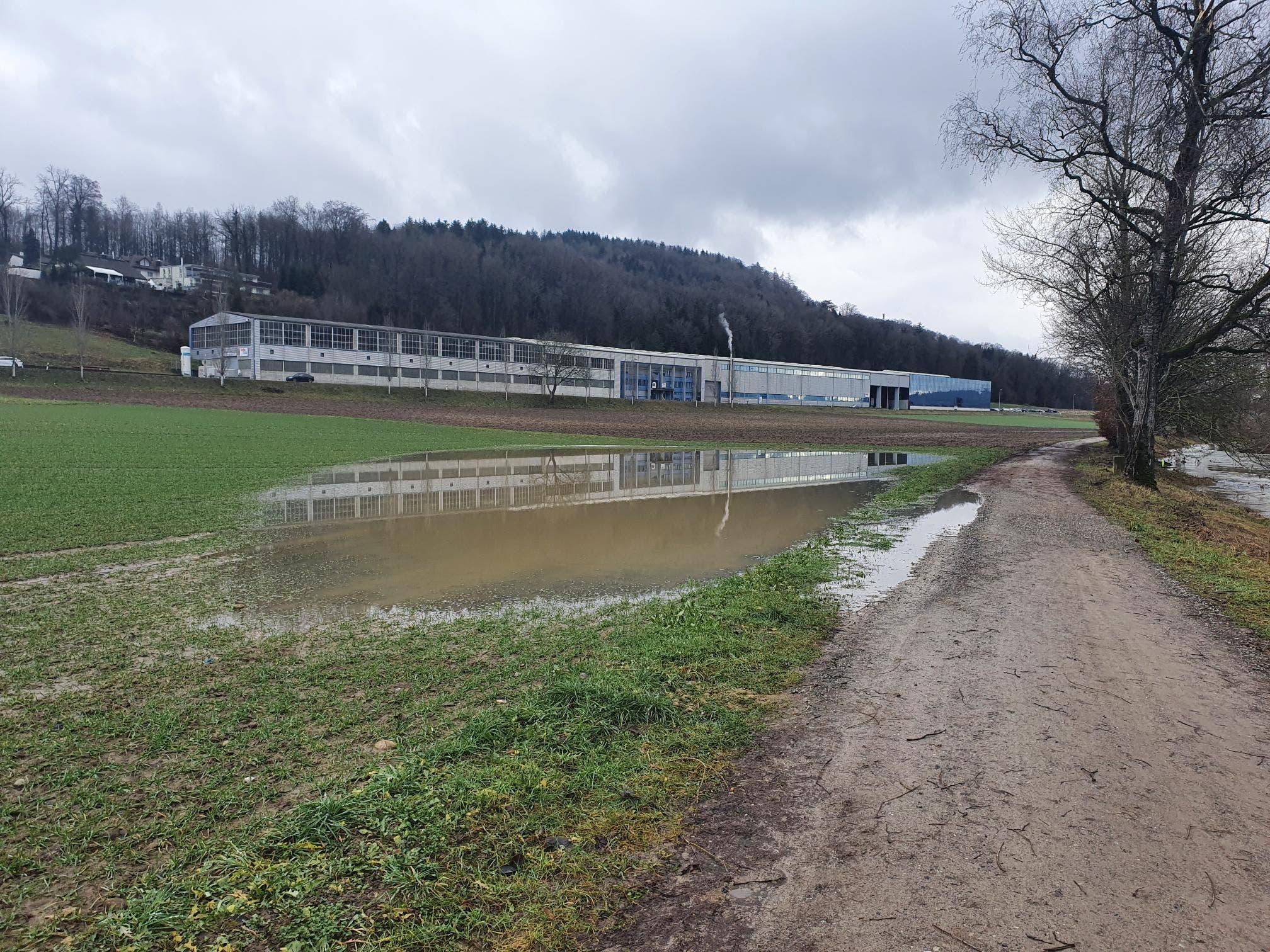 Impressionen der Überschwemmungen in Dottikon