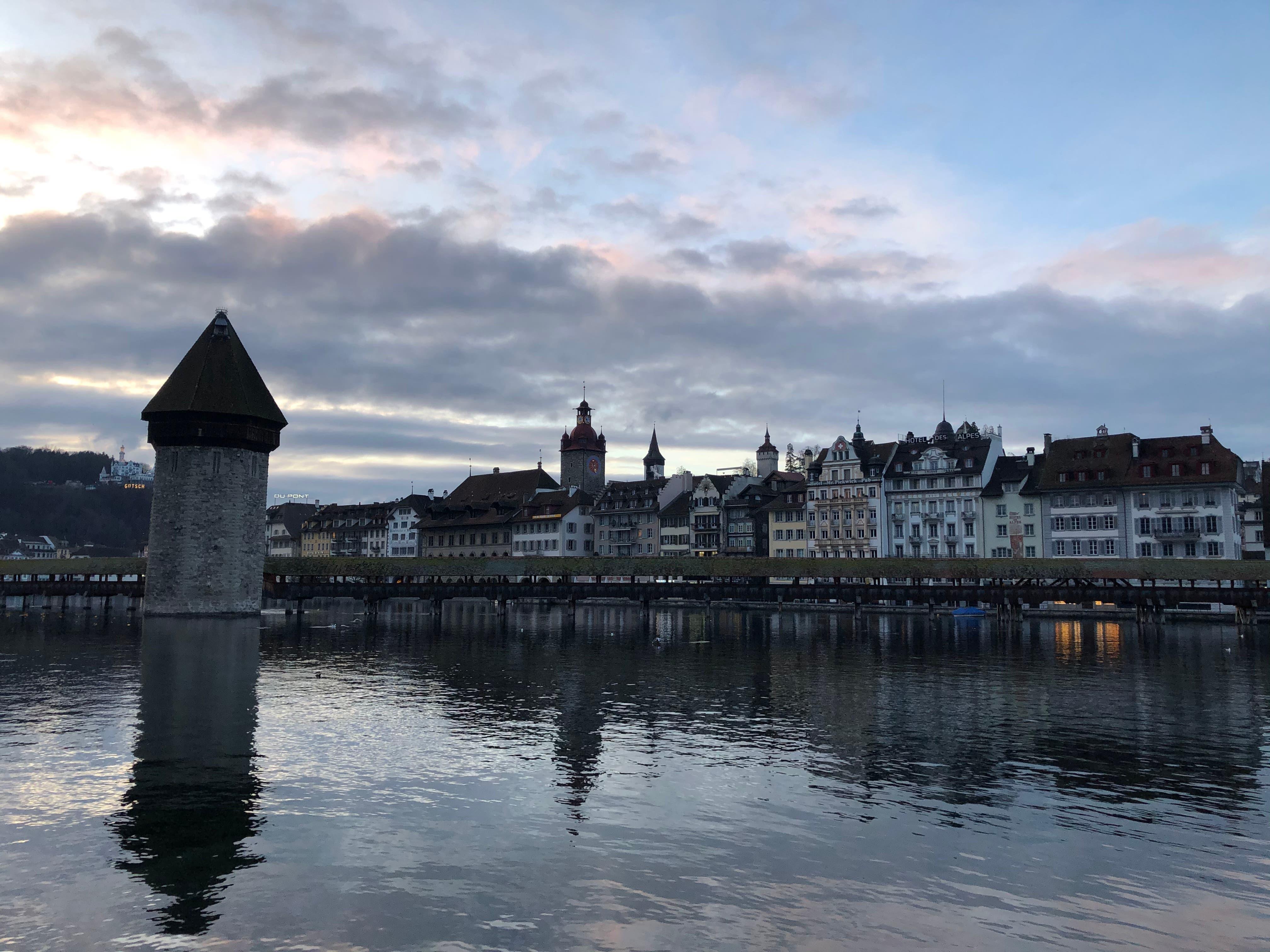 «Ich bin sehr gerne in Luzern. Man merkt, dass nicht mehr viele Leute da sind.»