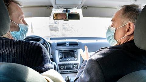 Auf dem Beifahrersitz: Den Führerschein hat Hans-Peter Wessels nie gemacht. (Kenneth Nars)