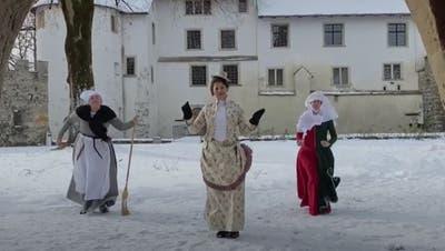 Museum Aargau tanzt Jerusalema auf Schloss Lenzburg